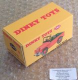 Dinky #340 (27d) Land Rover - Reproduction Box ( Land Rover model in the Orange finish. )